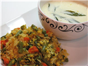 Vaghareli Khichdi (Spicy Khichdi with vegetables)