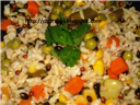 Warm Medley Rice Salad