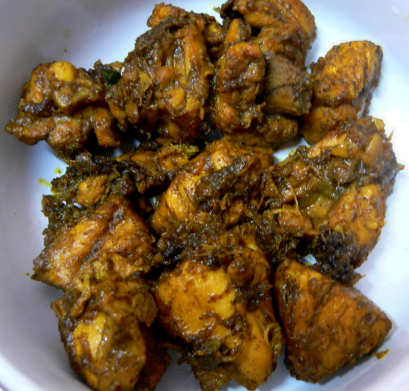 Recipe card - Pepper Chicken Fry